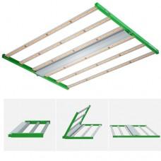 TopoGrow AlphaPar 720W LED Grow Light Dimmable Full Spectrum Professional Foldable Bar Strips Lights with Daisy Chain, High 2.7 umol/J PPF , for Commercial Indoor 5x5ft Plants Veg Flower Lighting