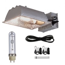 TopoGrow 315W CMH CDM Grow Light Kit Enclosed Reflector W/3100K Bulb 120/240V Replace LED 300W/600W/1000W Grow Light