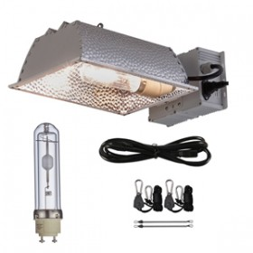 TopoGrow 315W CMH CDM Grow Light Kit W/3100K Bulb& Horizontal Ballast 120V-240V&Enclosed Reflector