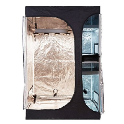 """TopoGrow 2-in-1 Indoor Grow Tent 48""""x36""""x72""""600D High-Reflective W/2-Tiered for Lodge Propagation and Flower"""