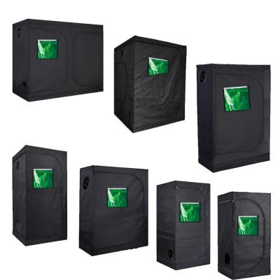 "TopoGrow  24""X24""X48"" 36""X36""X72"" 48""X48""X80""96""X48""X80""  120""X120""X80""Indoor Grow Tent Room 600D Mylar High Reflective non Toxic Hut W/Green Window&Metal Corners"